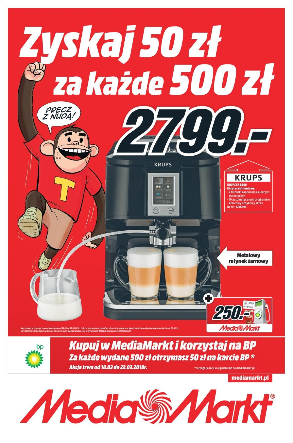Gazetka promocyjna Media Markt do 22/03/2018 str.0