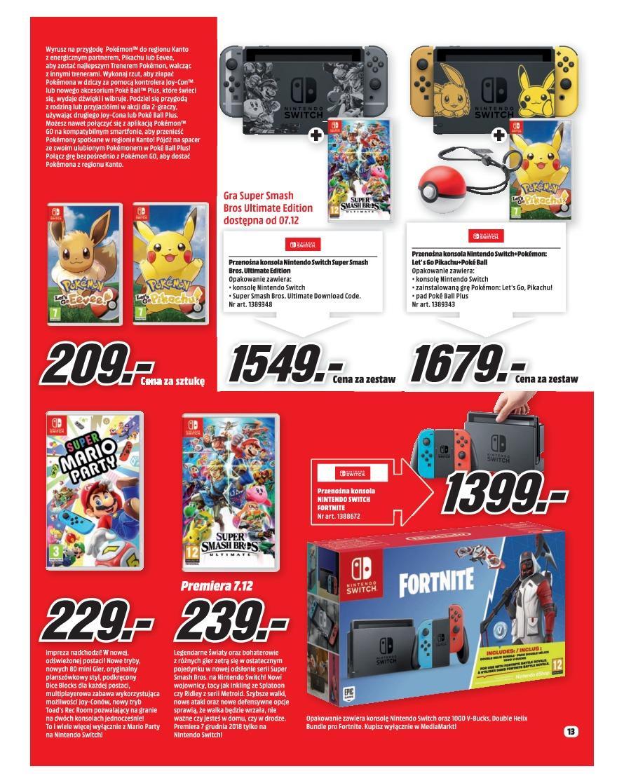 Gazetka promocyjna Media Markt do 31/12/2018 str.13