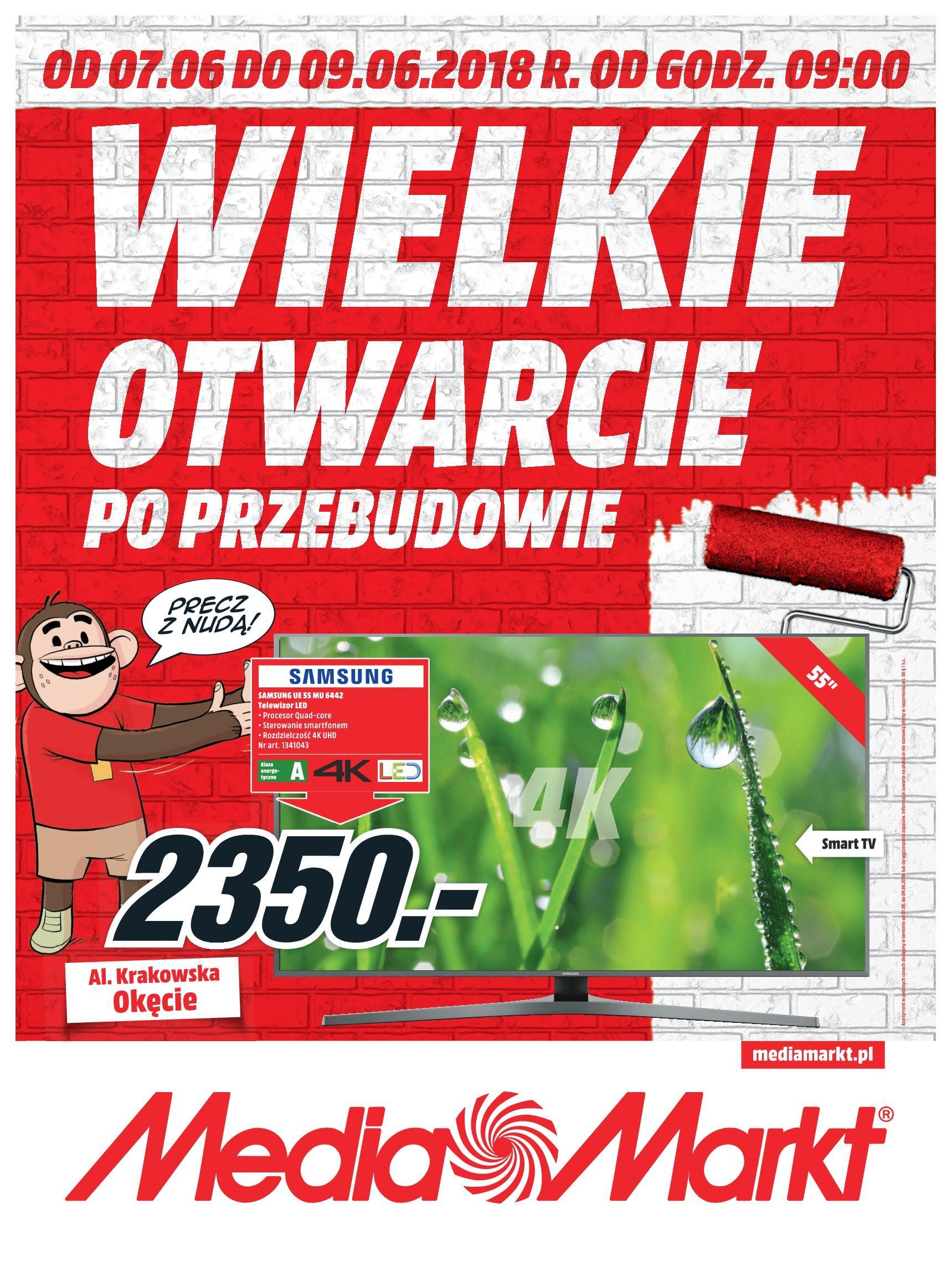 Gazetka promocyjna Media Markt do 09/06/2018 str.0