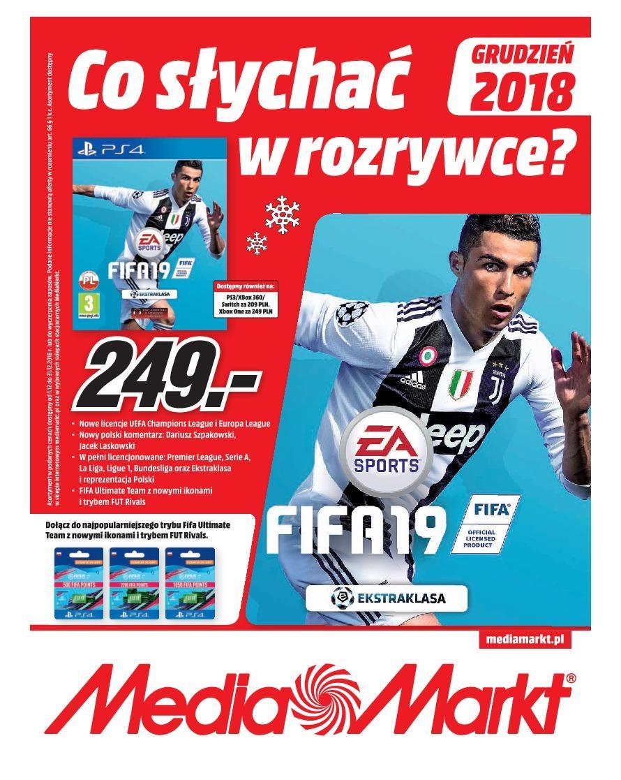 Gazetka promocyjna Media Markt do 31/12/2018 str.1