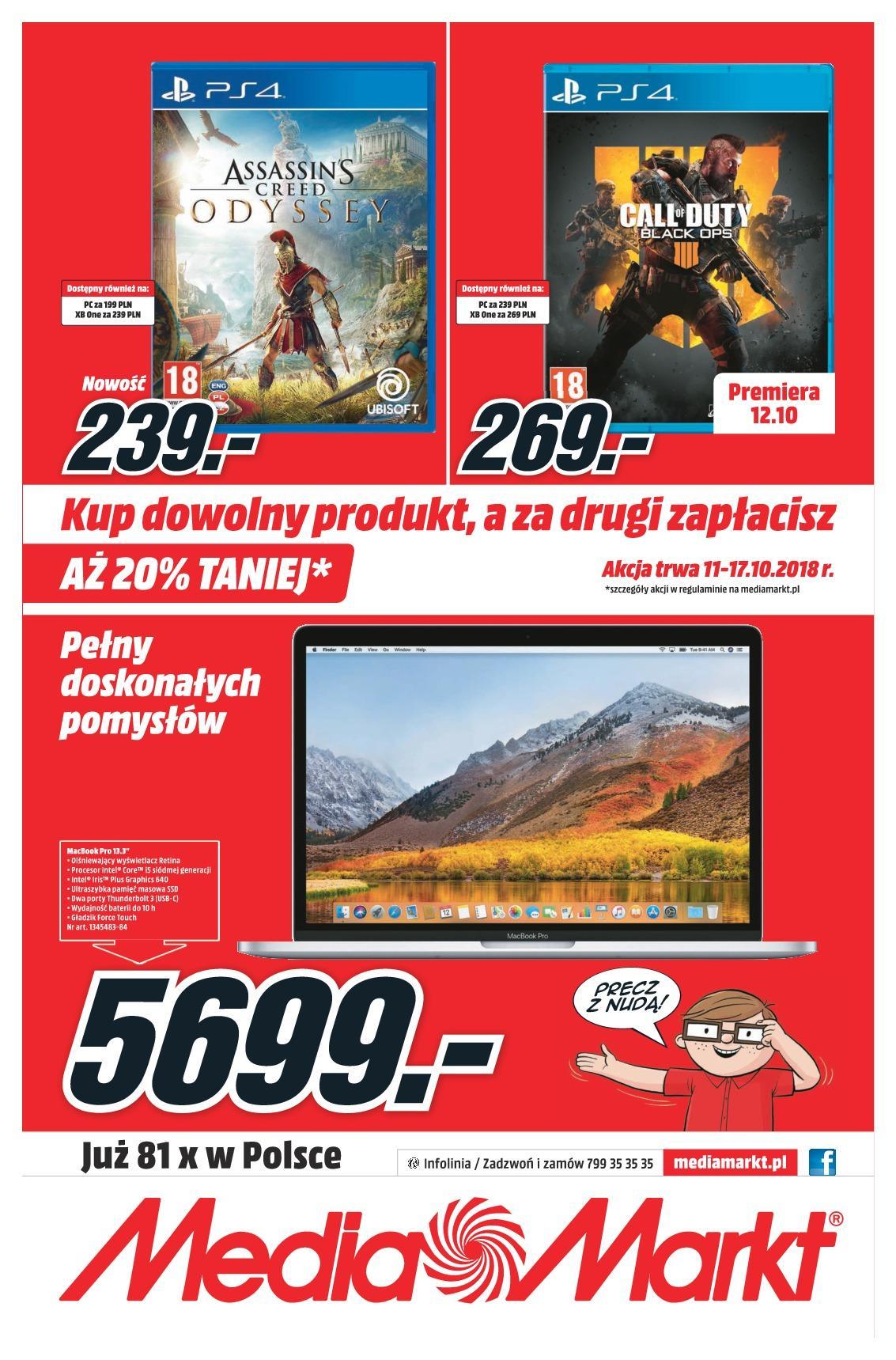 Gazetka promocyjna Media Markt do 17/10/2018 str.7