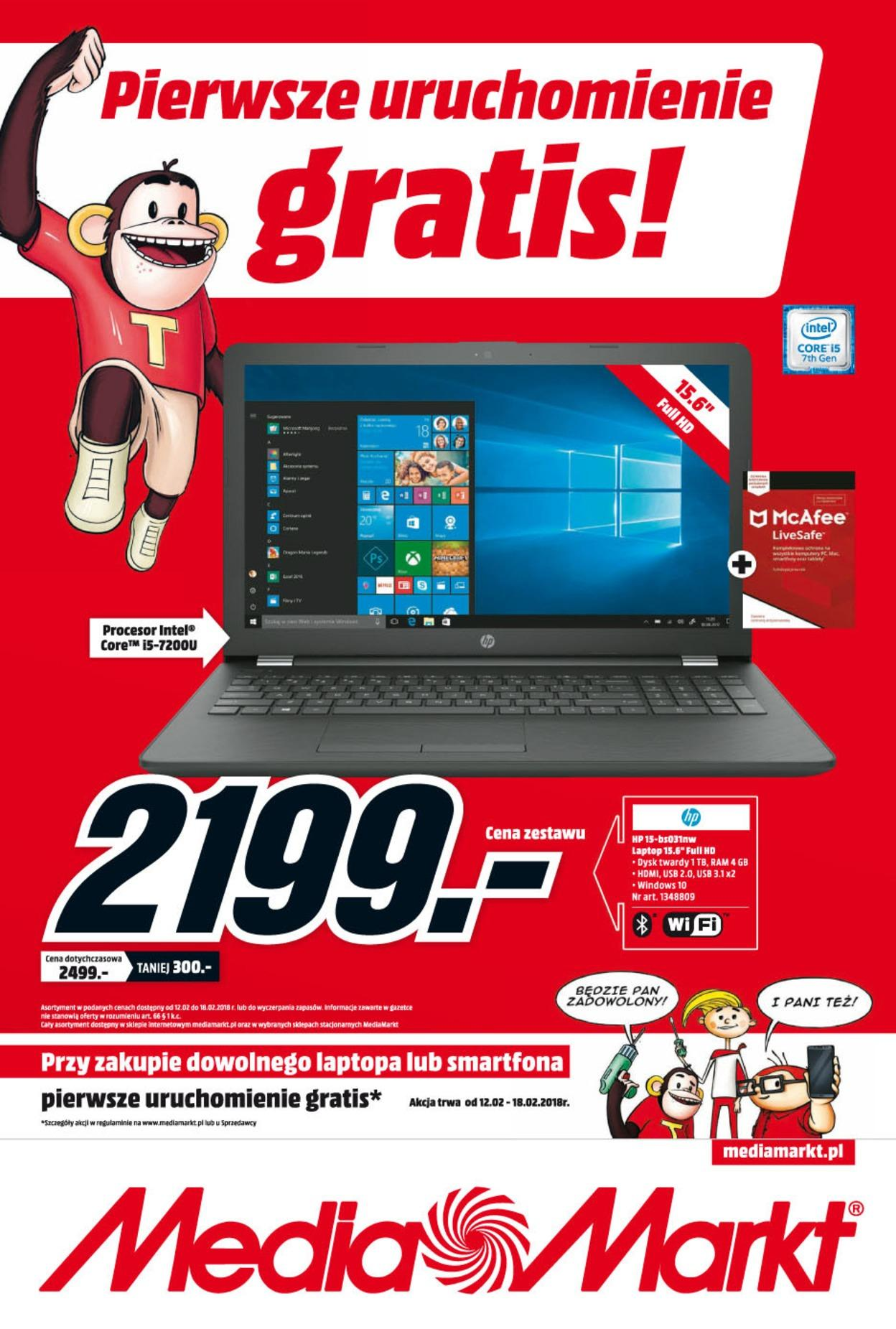 Gazetka promocyjna Media Markt do 18/02/2018 str.0