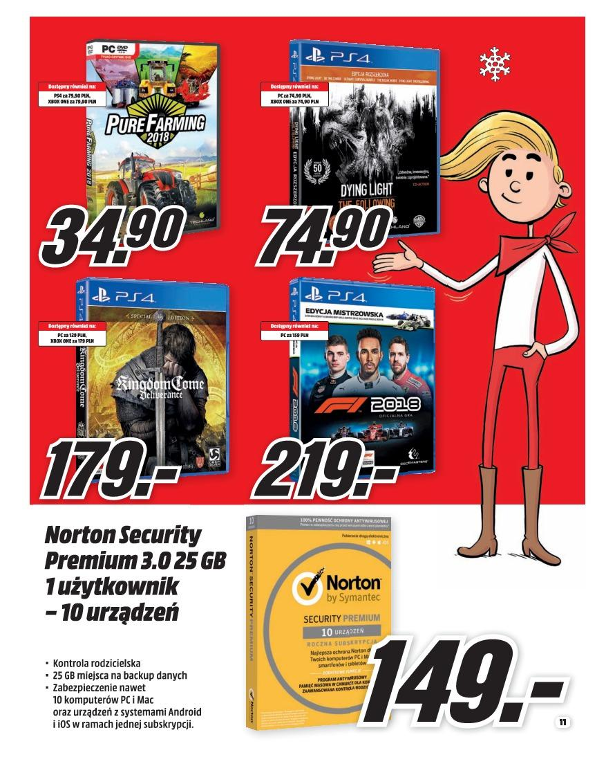 Gazetka promocyjna Media Markt do 31/12/2018 str.11