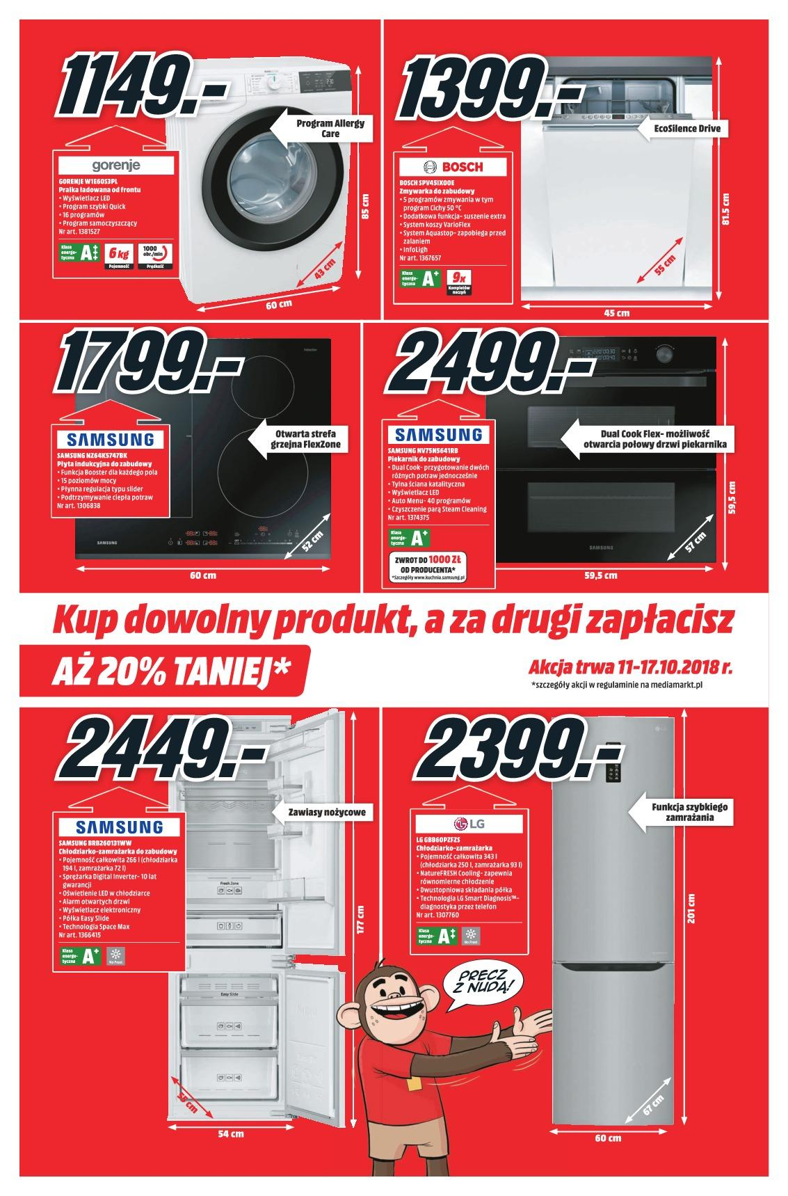 Gazetka promocyjna Media Markt do 17/10/2018 str.1