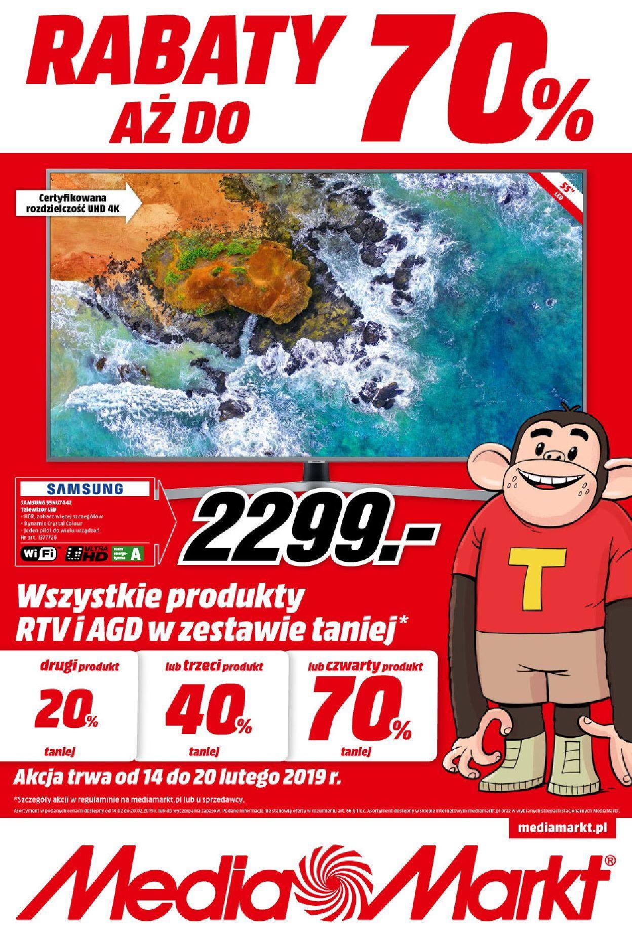 Gazetka promocyjna Media Markt do 20/02/2019 str.0