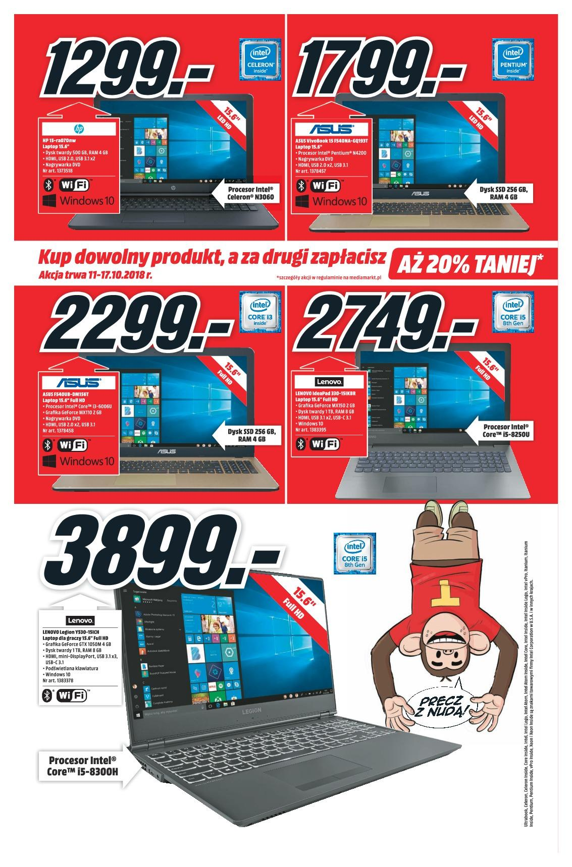 Gazetka promocyjna Media Markt do 17/10/2018 str.6