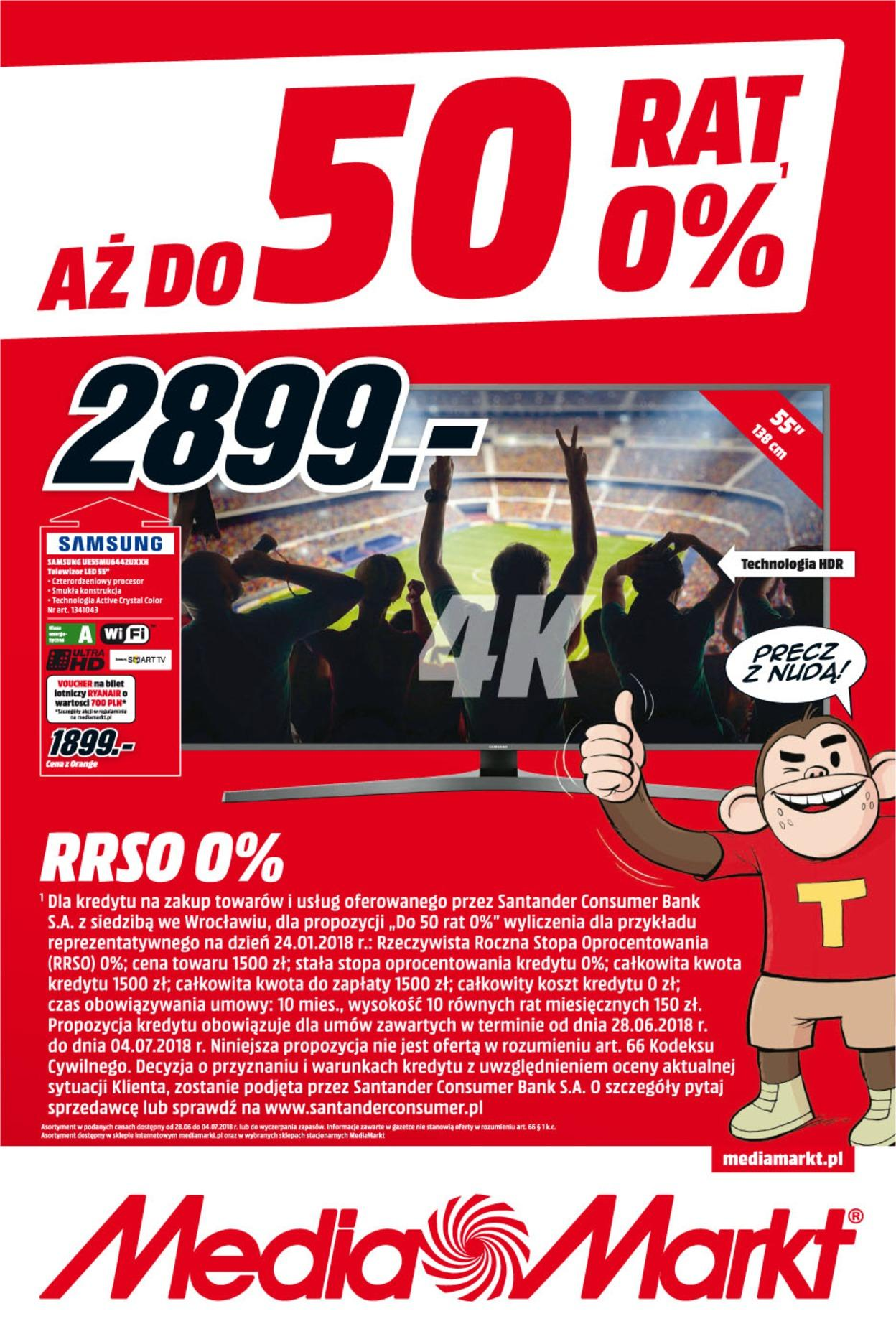 Gazetka promocyjna Media Markt do 04/07/2018 str.0