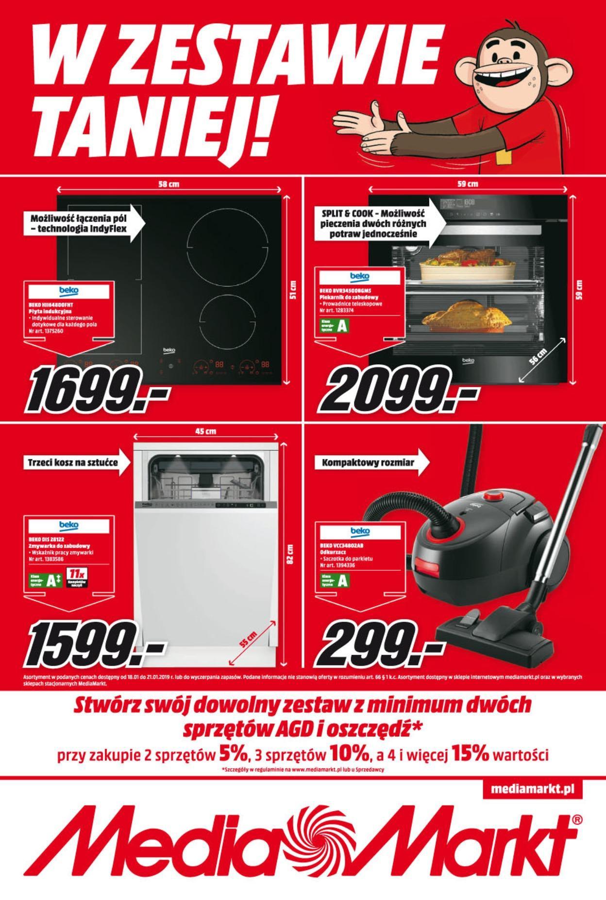Gazetka promocyjna Media Markt do 21/01/2019 str.0