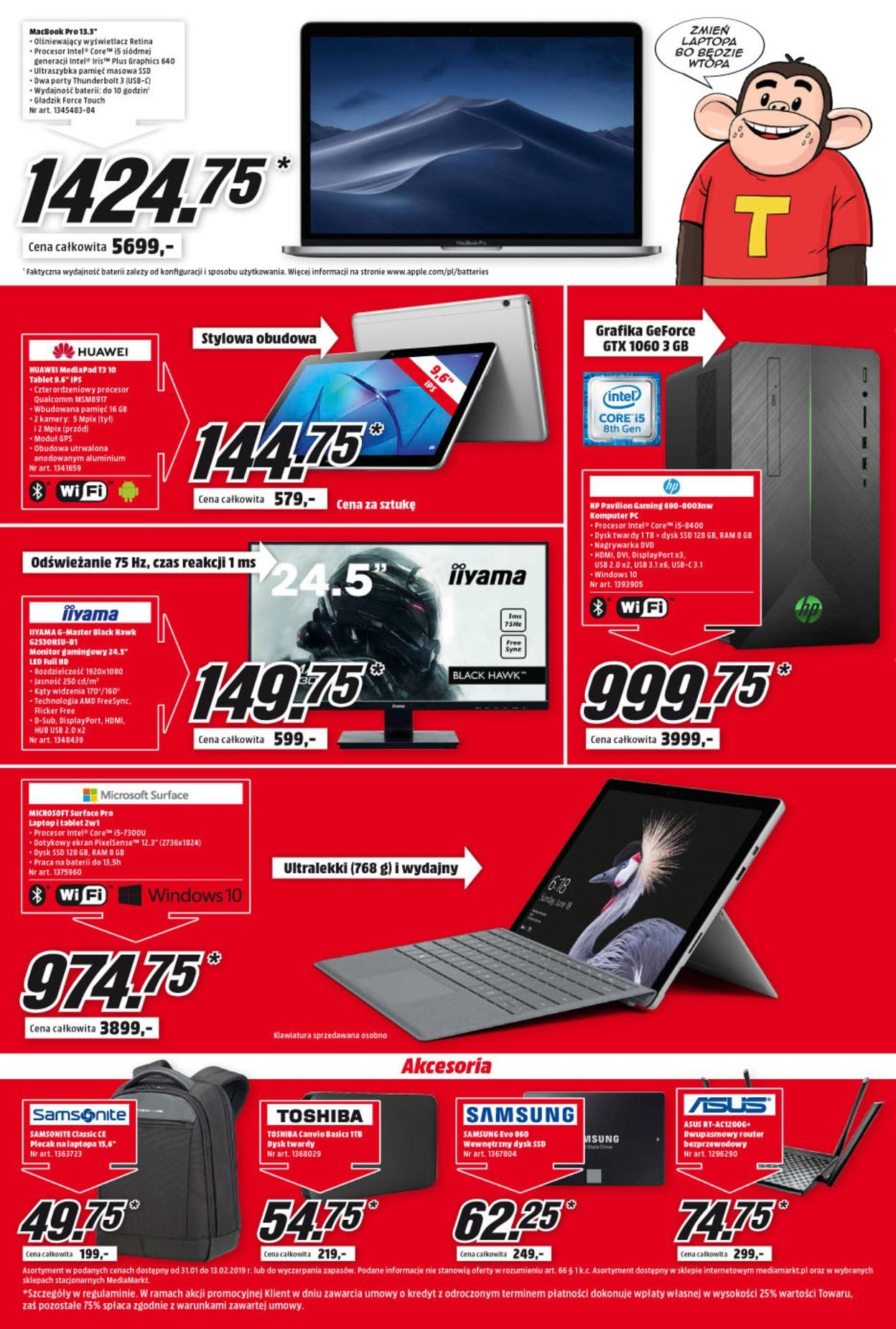 Gazetka promocyjna Media Markt do 13/02/2019 str.3