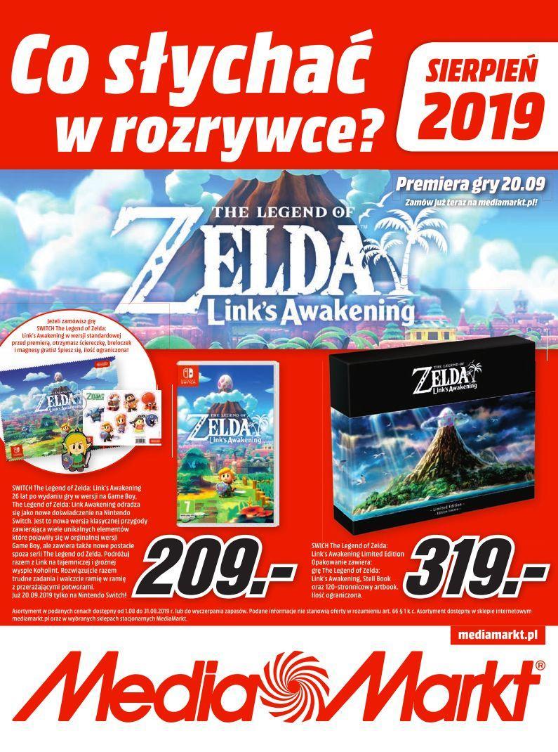 Gazetka promocyjna Media Markt do 31/08/2019 str.1