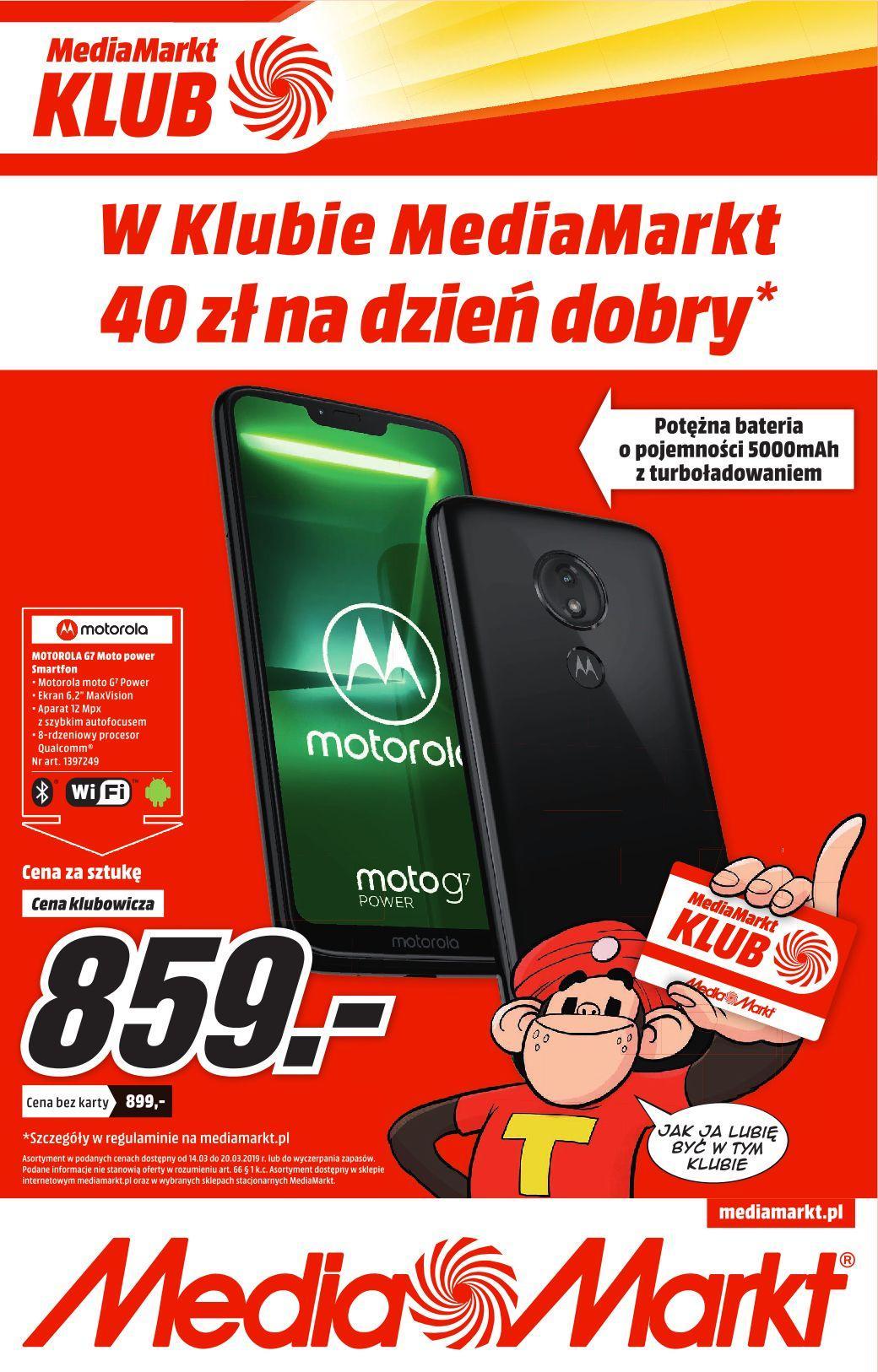 Gazetka promocyjna Media Markt do 20/03/2019 str.0