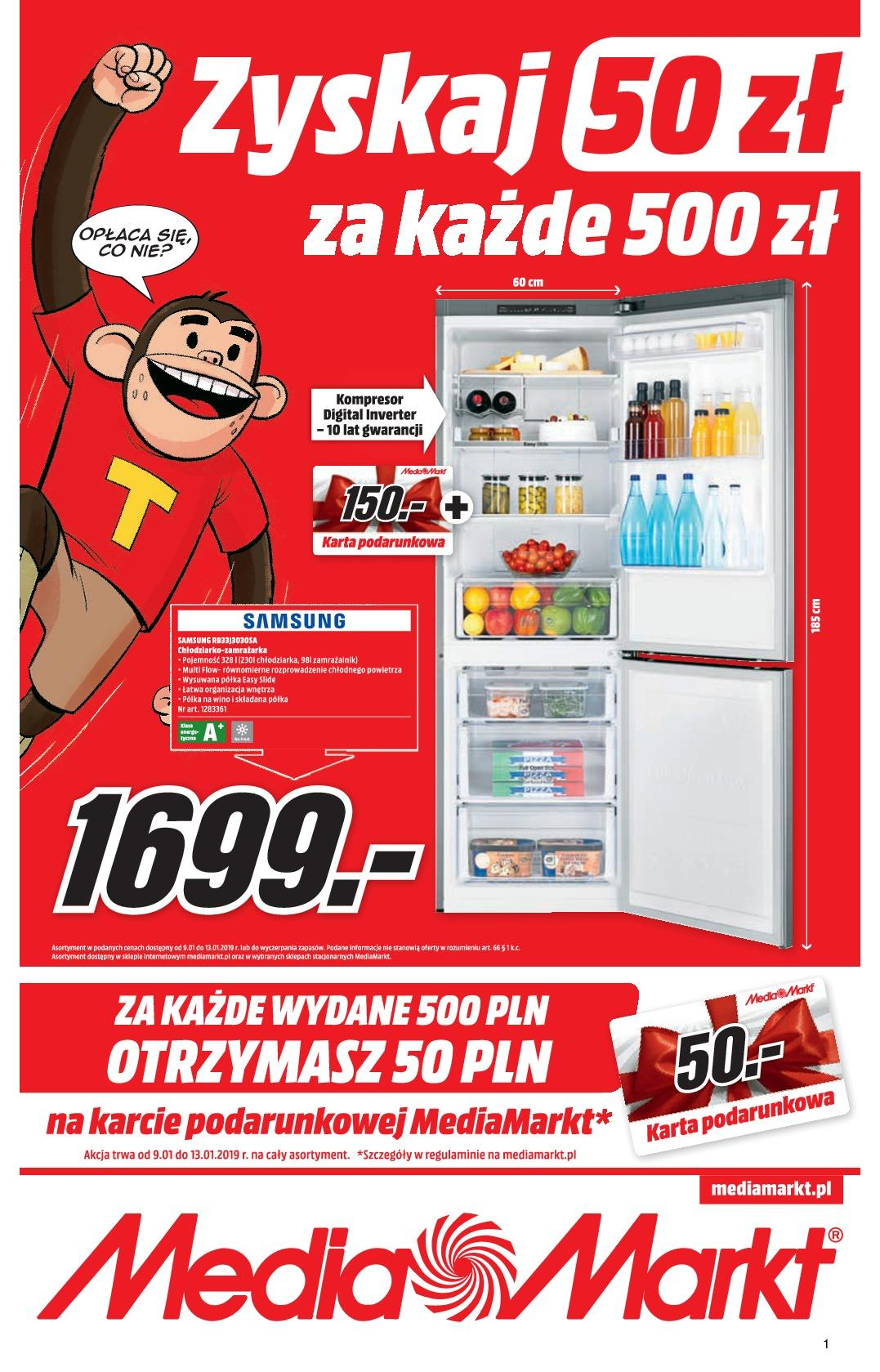 Gazetka promocyjna Media Markt do 13/01/2019 str.1