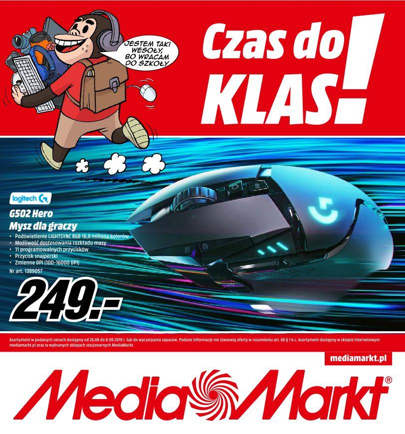 Gazetka promocyjna Media Markt do 08/09/2019 str.0