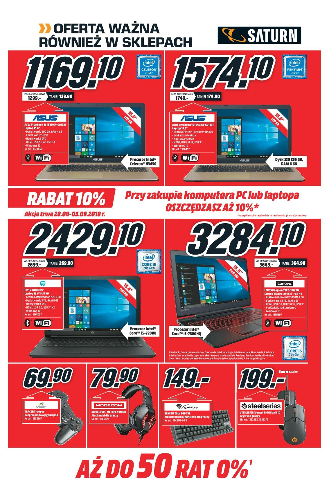 Gazetka promocyjna Media Markt do 05/09/2018 str.6