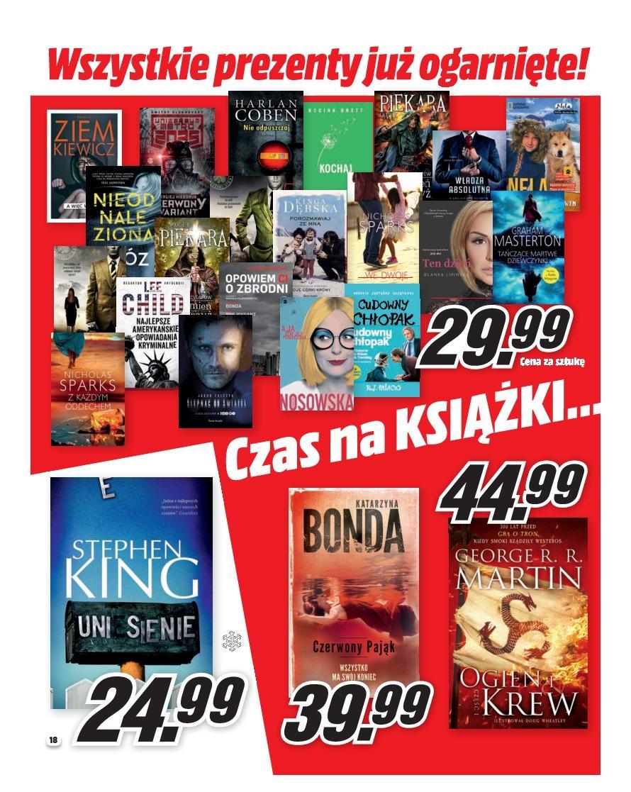Gazetka promocyjna Media Markt do 31/12/2018 str.18