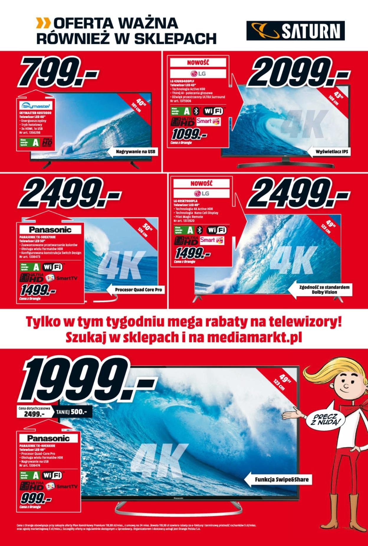 Gazetka promocyjna Media Markt do 31/07/2018 str.5