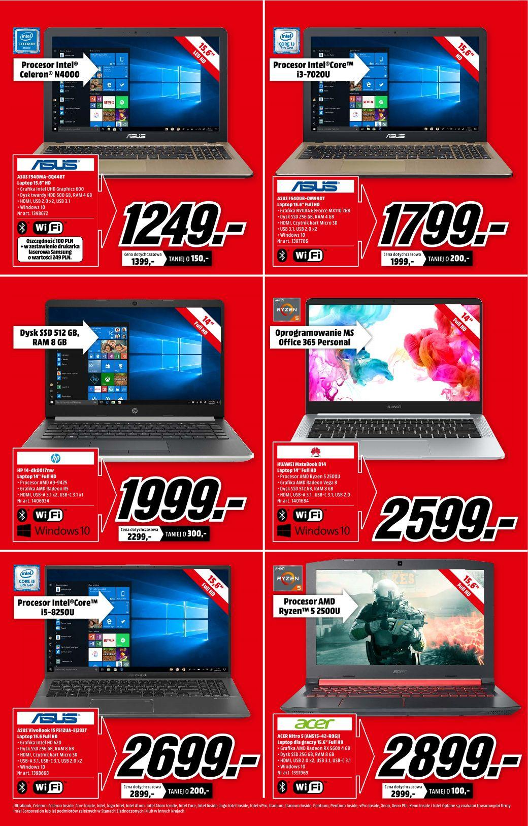 Gazetka promocyjna Media Markt do 21/08/2019 str.1