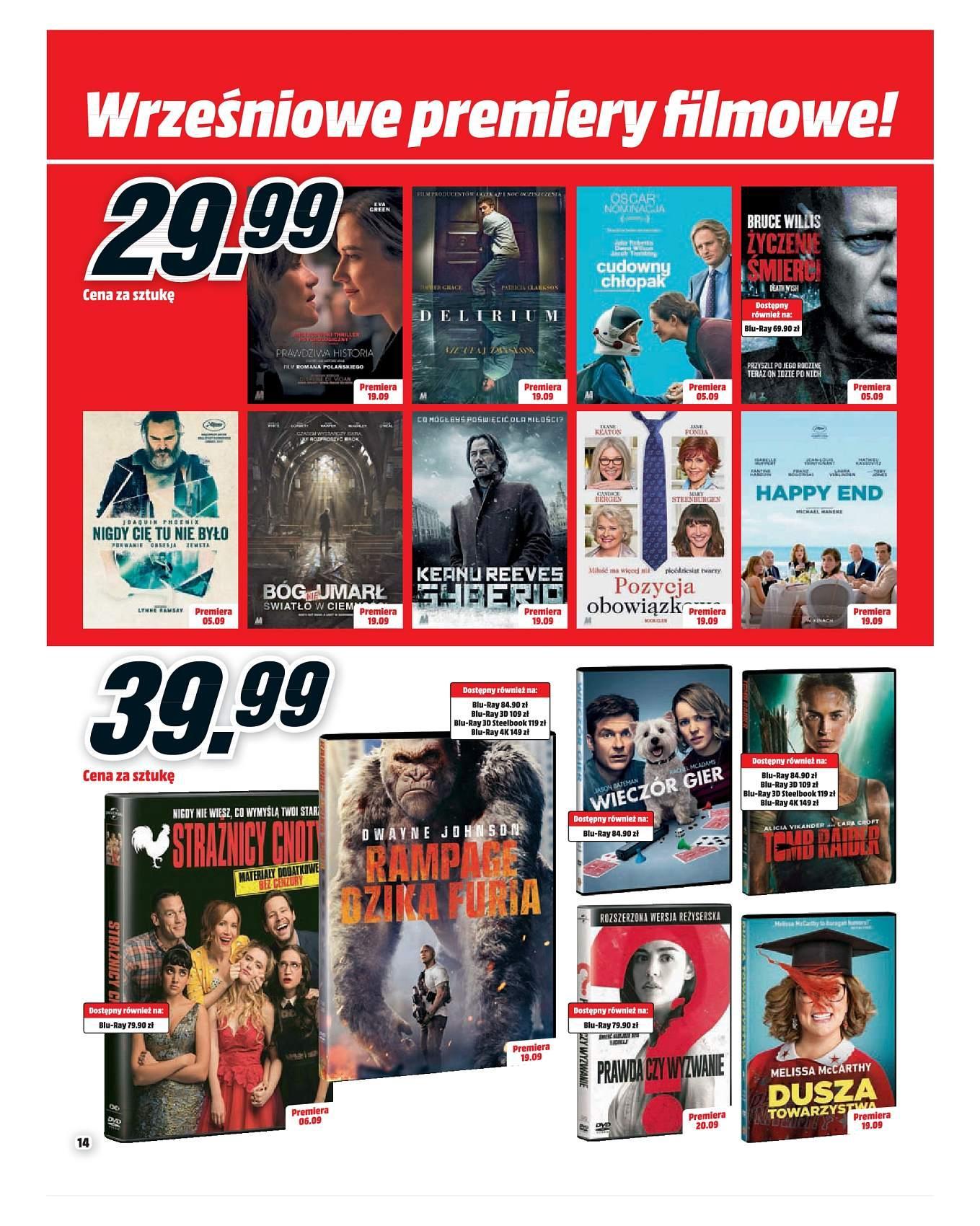 Gazetka promocyjna Media Markt do 30/09/2018 str.13