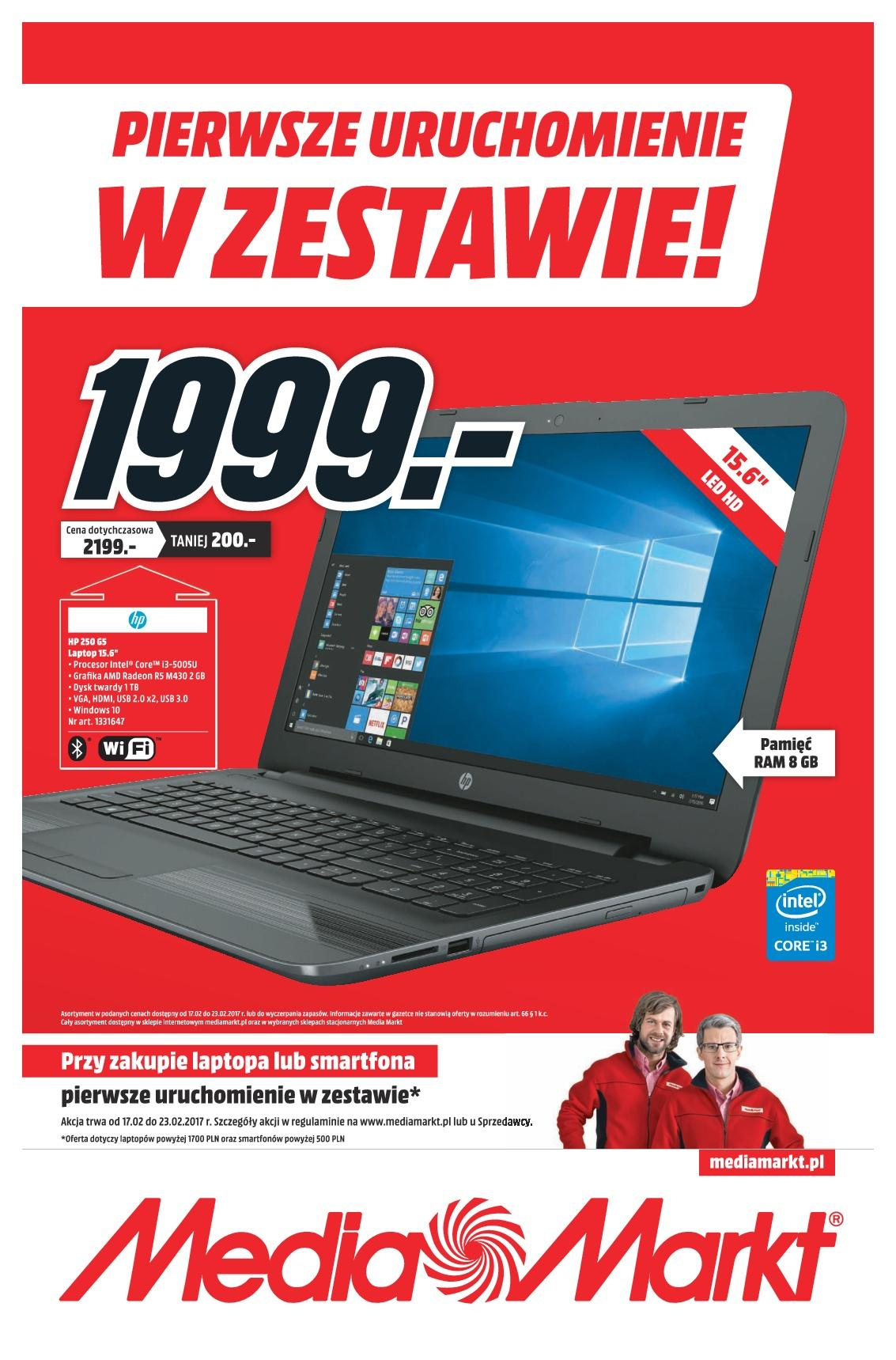Gazetka promocyjna Media Markt do 23/02/2017 str.0