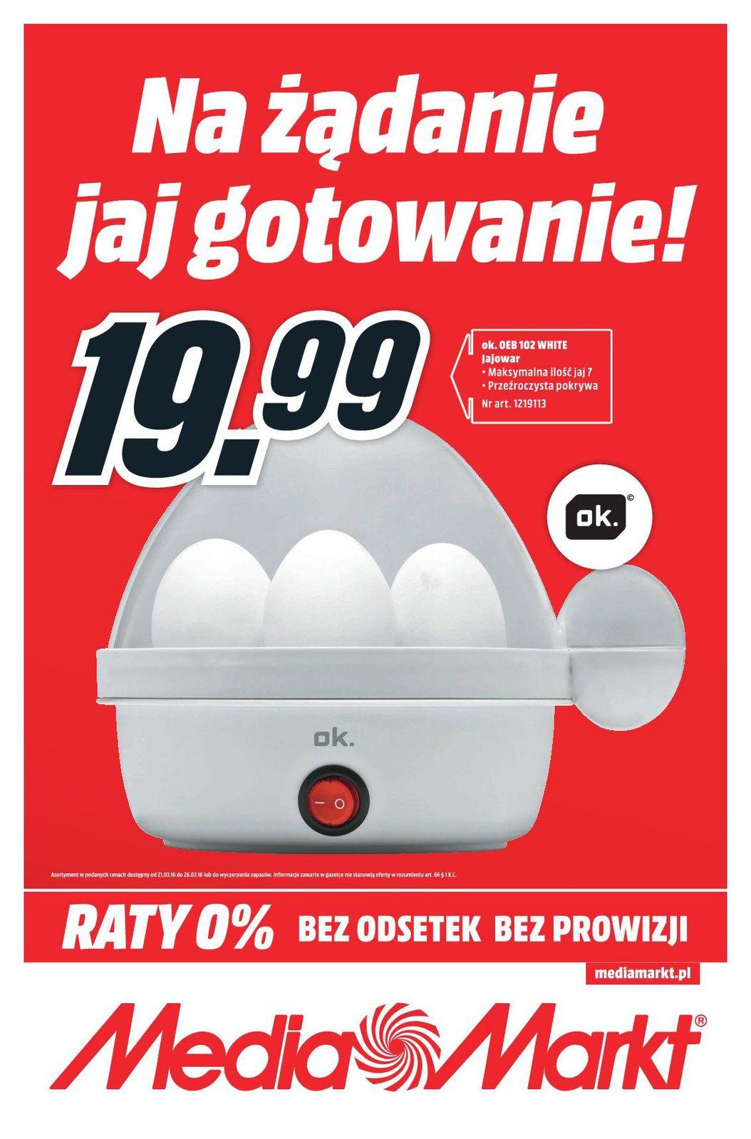 Gazetka promocyjna Media Markt do 26/03/2016 str.0