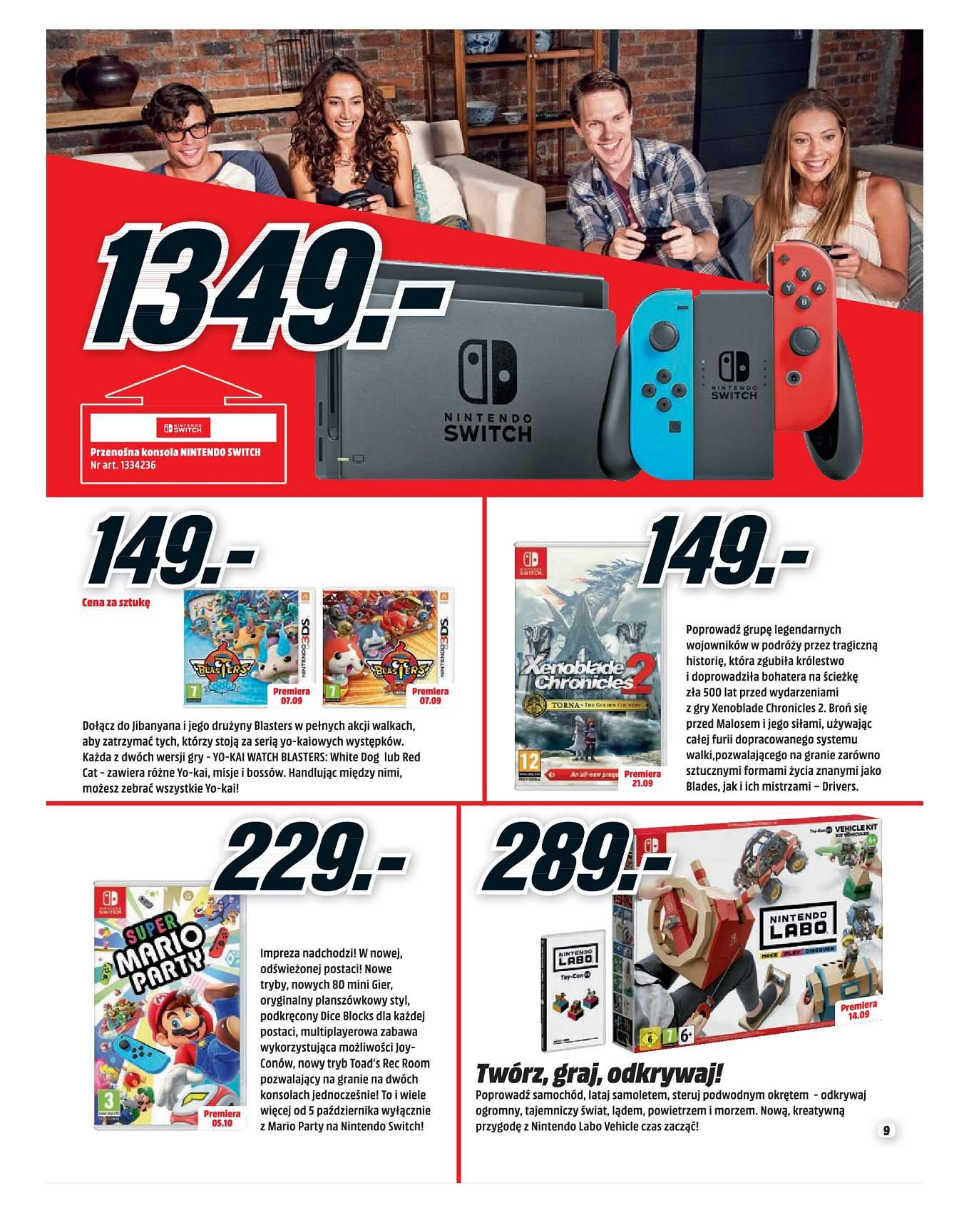 Gazetka promocyjna Media Markt do 30/09/2018 str.9