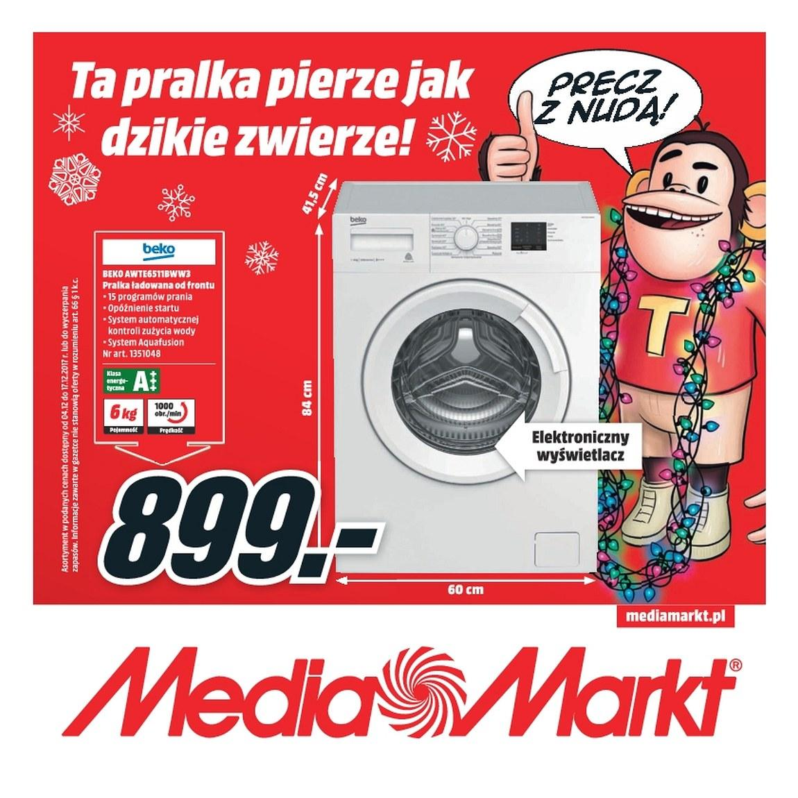Gazetka promocyjna Media Markt do 17/12/2017 str.0