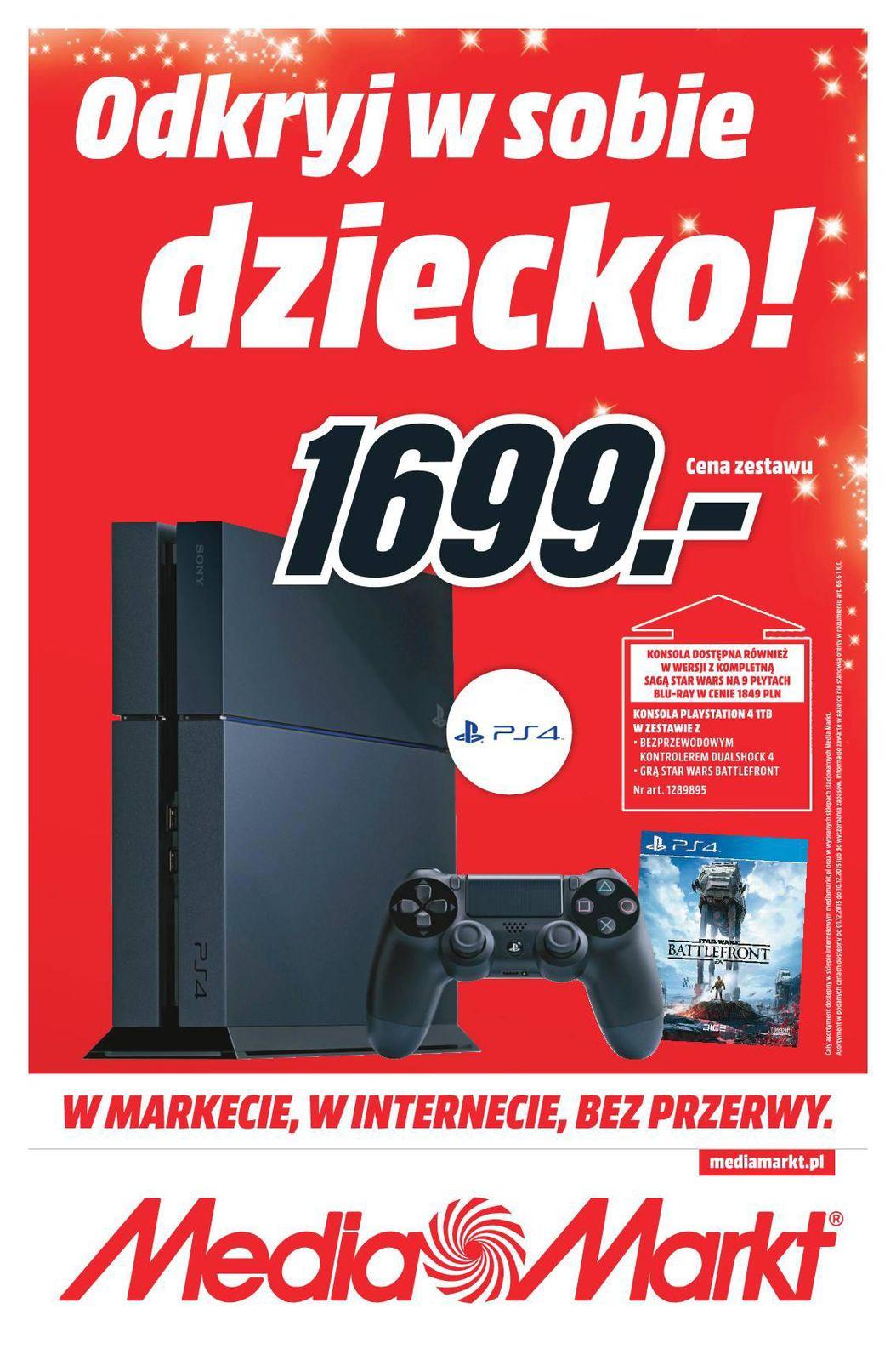 Gazetka promocyjna Media Markt do 10/12/2015 str.0