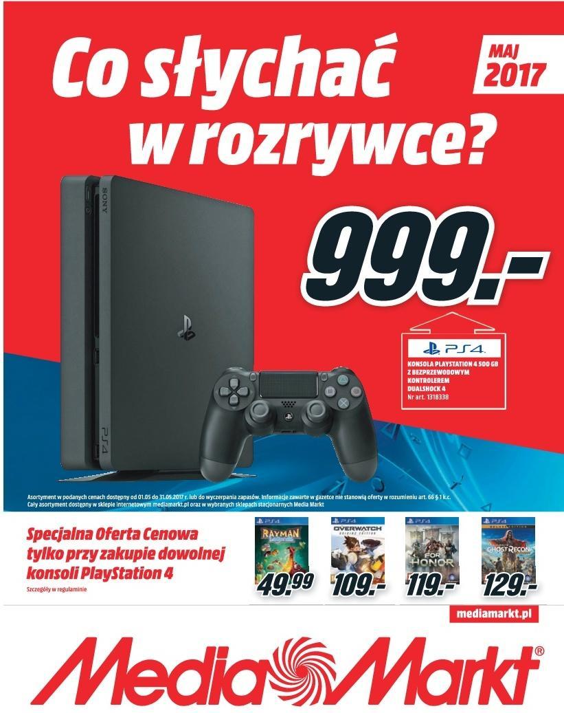 Gazetka promocyjna Media Markt do 31/05/2017 str.0