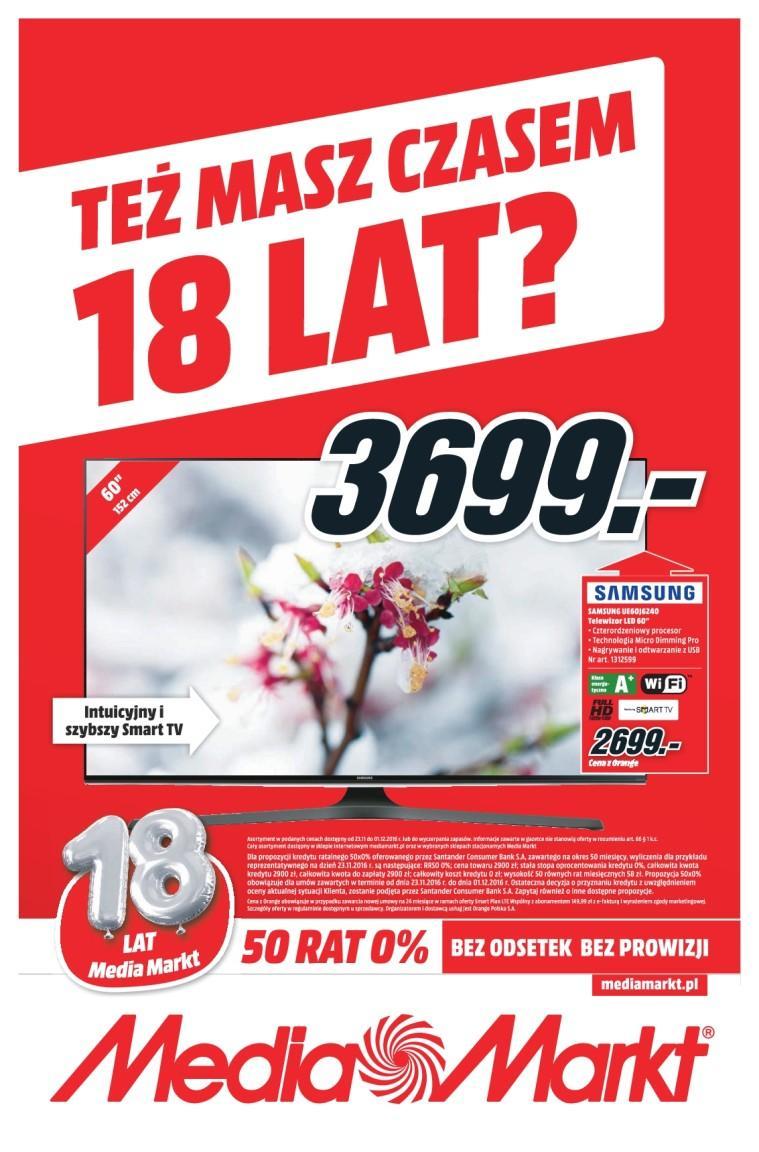 Gazetka promocyjna Media Markt do 01/12/2016 str.0