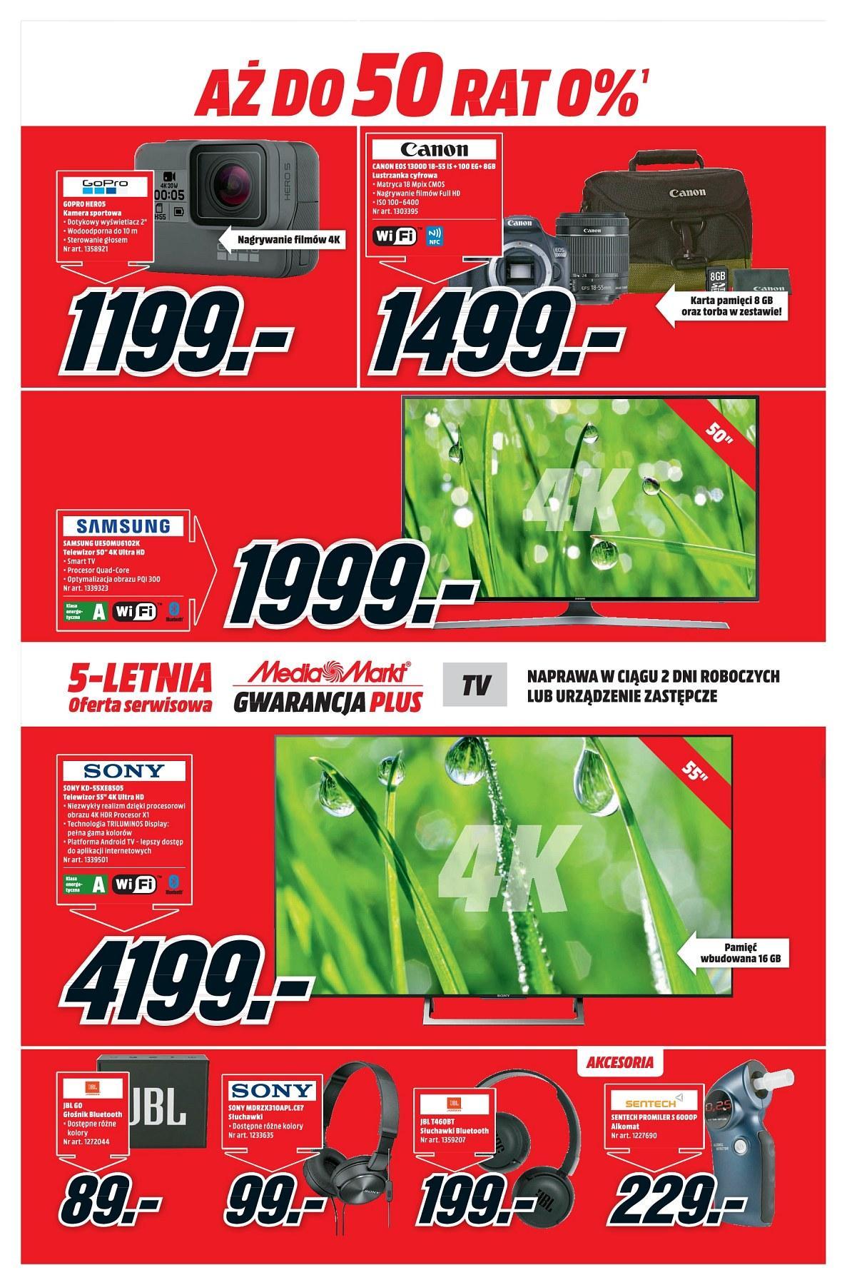 Gazetka promocyjna Media Markt do 23/04/2018 str.1
