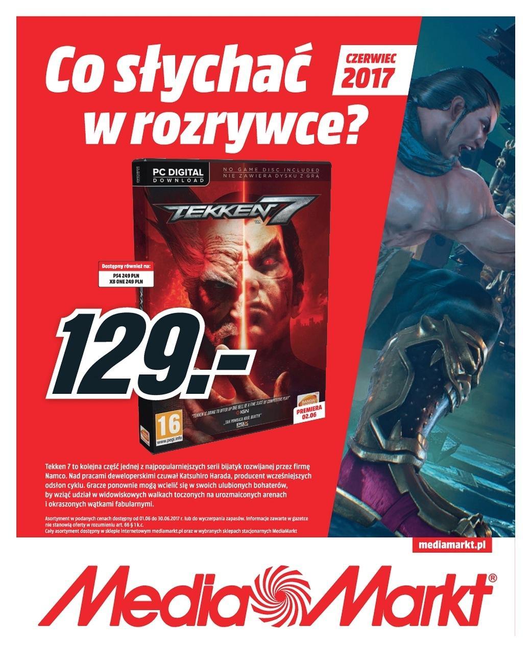 Gazetka promocyjna Media Markt do 30/06/2017 str.0