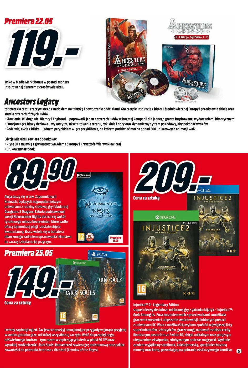 Gazetka promocyjna Media Markt do 31/05/2018 str.4