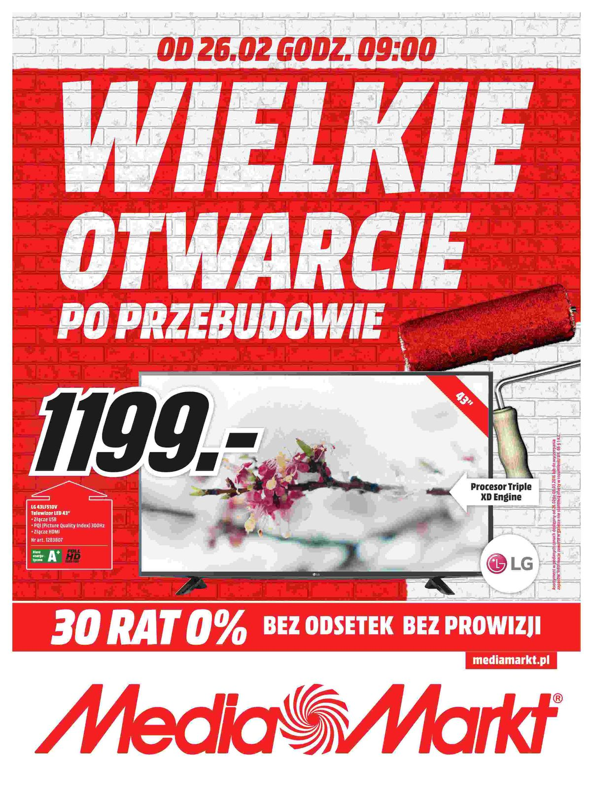 Gazetka promocyjna Media Markt do 03/03/2016 str.0