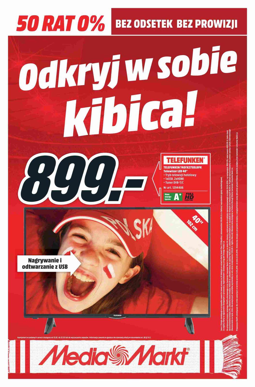 Gazetka promocyjna Media Markt do 22/05/2016 str.0