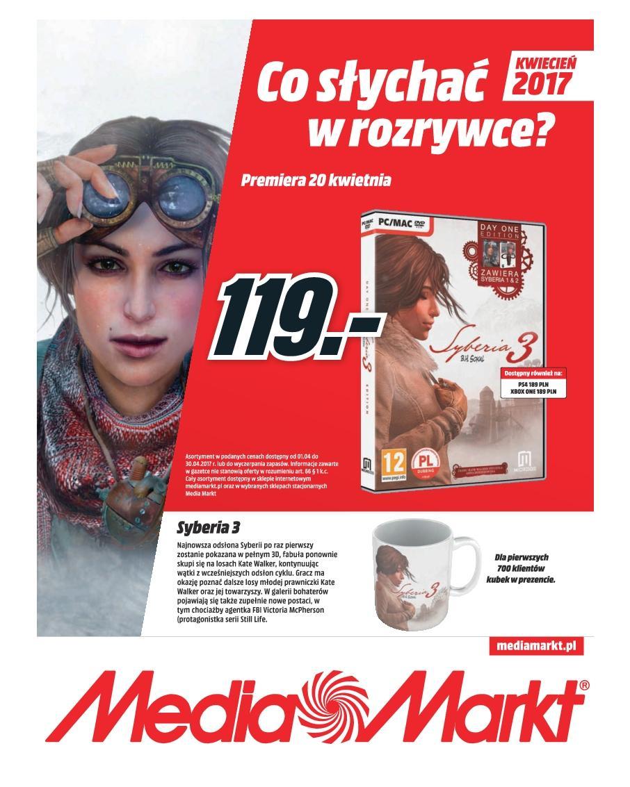 Gazetka promocyjna Media Markt do 30/04/2017 str.0