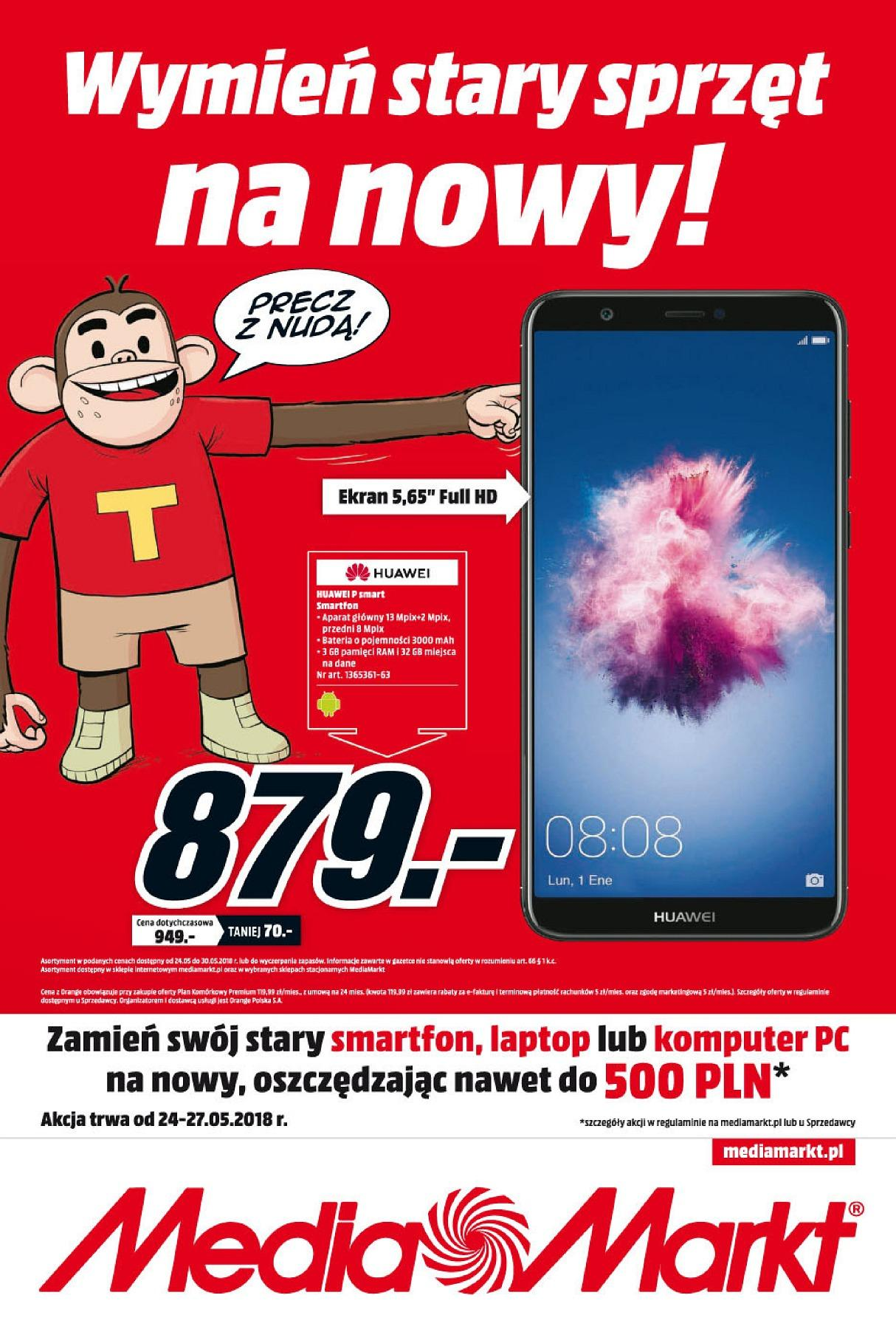 Gazetka promocyjna Media Markt do 30/05/2018 str.0