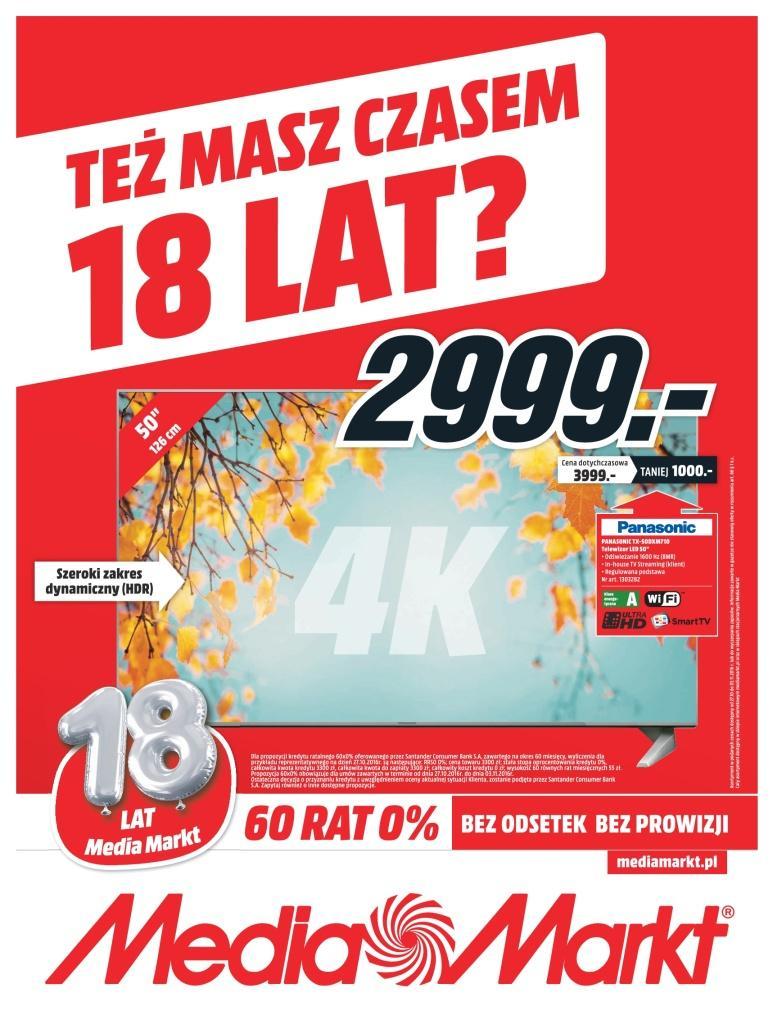 Gazetka promocyjna Media Markt do 03/11/2016 str.0