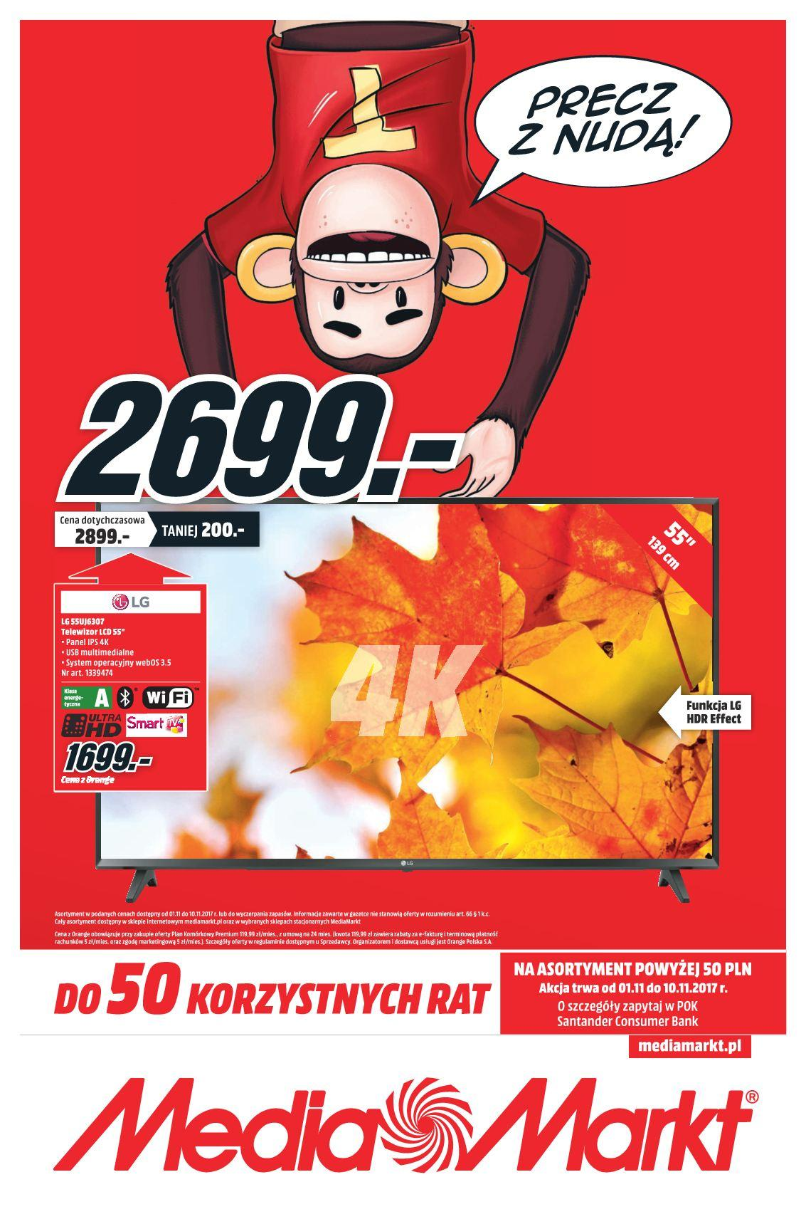Gazetka promocyjna Media Markt do 10/11/2017 str.0