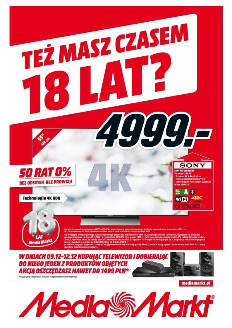 Gazetka promocyjna Media Markt do 12/12/2016 str.0