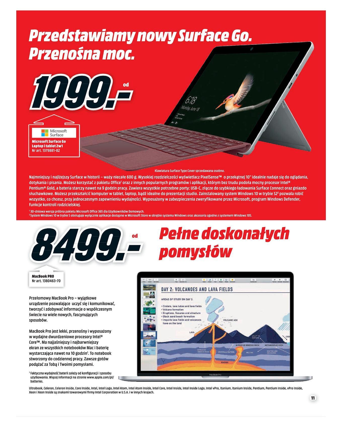 Gazetka promocyjna Media Markt do 30/09/2018 str.10