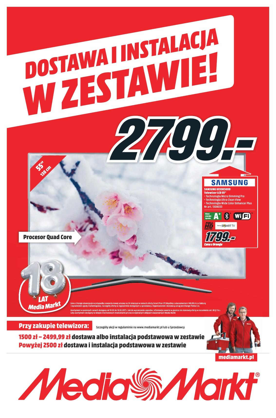 Gazetka promocyjna Media Markt do 16/02/2017 str.0