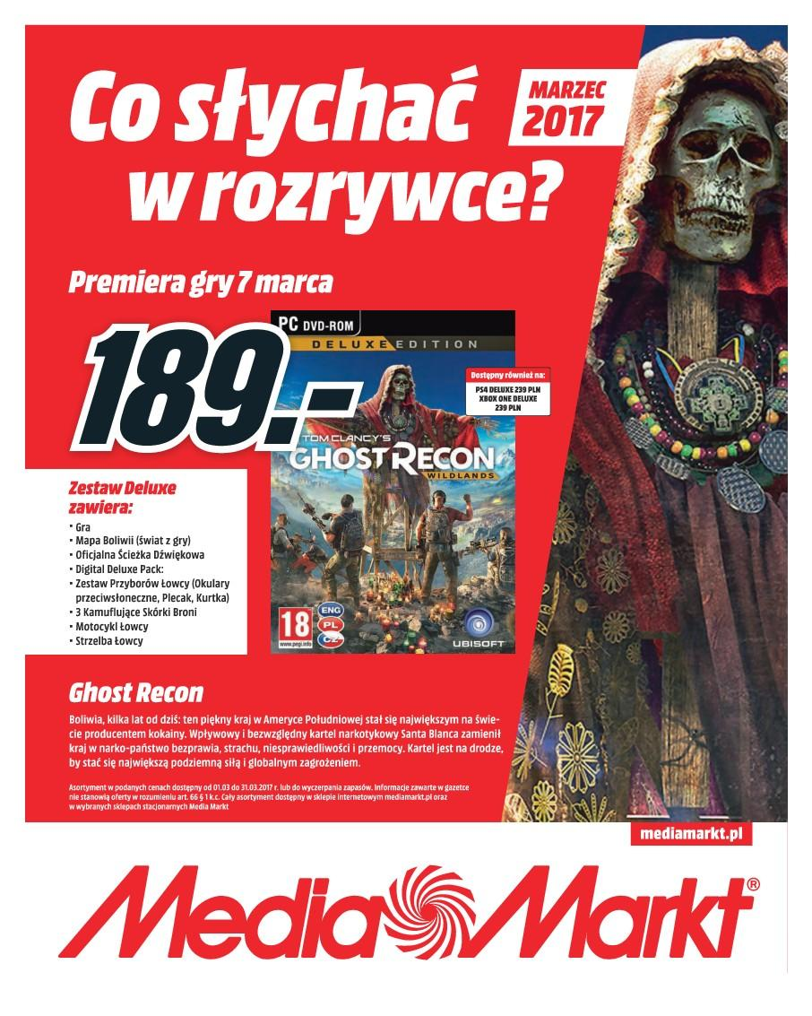 Gazetka promocyjna Media Markt do 31/03/2017 str.0