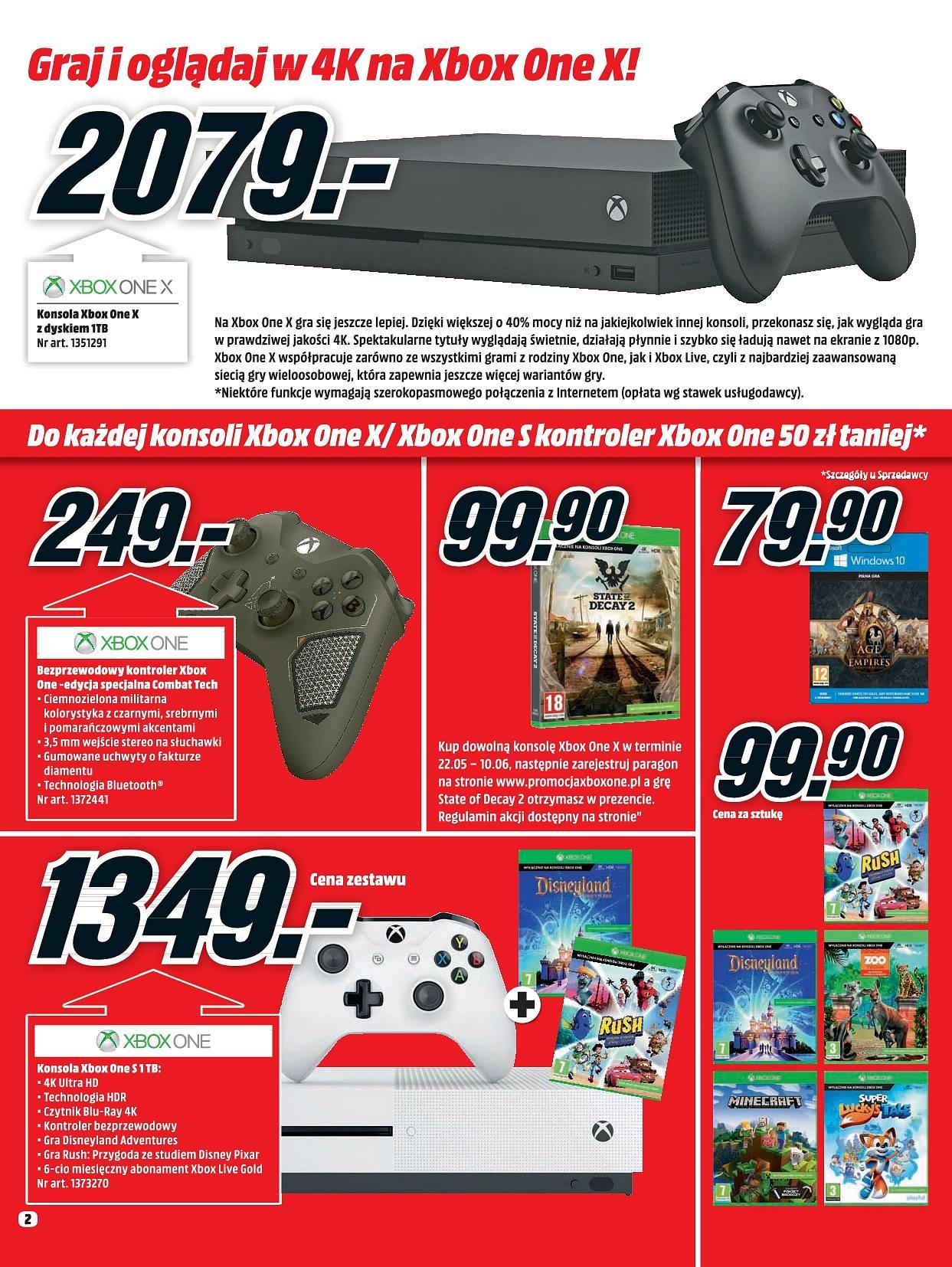 Gazetka promocyjna Media Markt do 30/06/2018 str.2