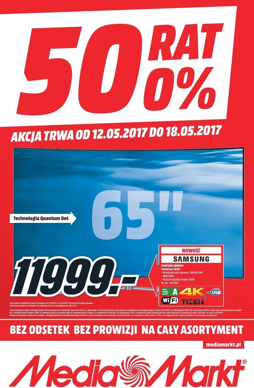 Gazetka promocyjna Media Markt do 18/05/2017 str.0