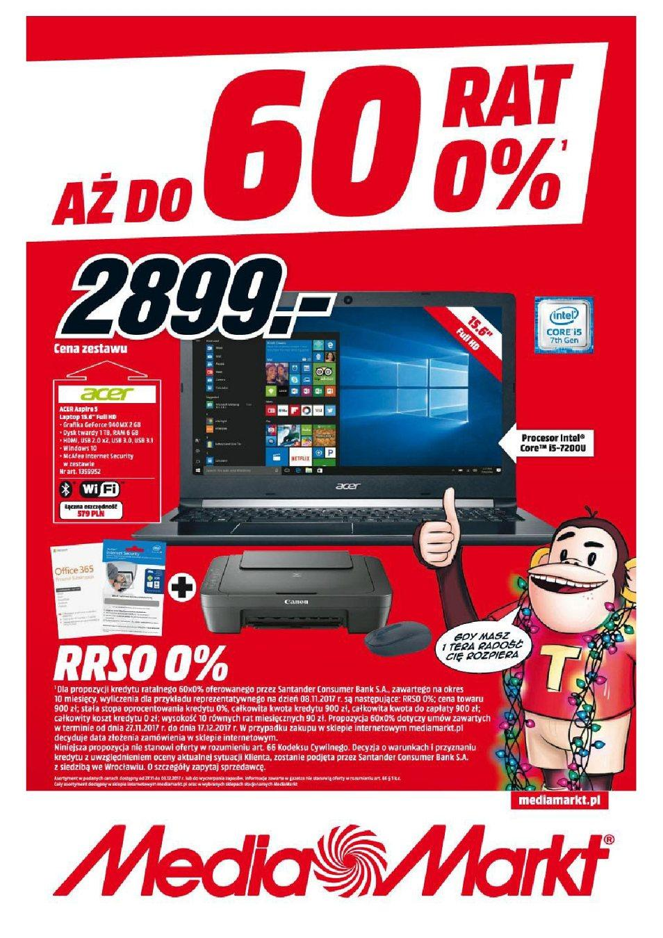 Gazetka promocyjna Media Markt do 03/12/2017 str.0