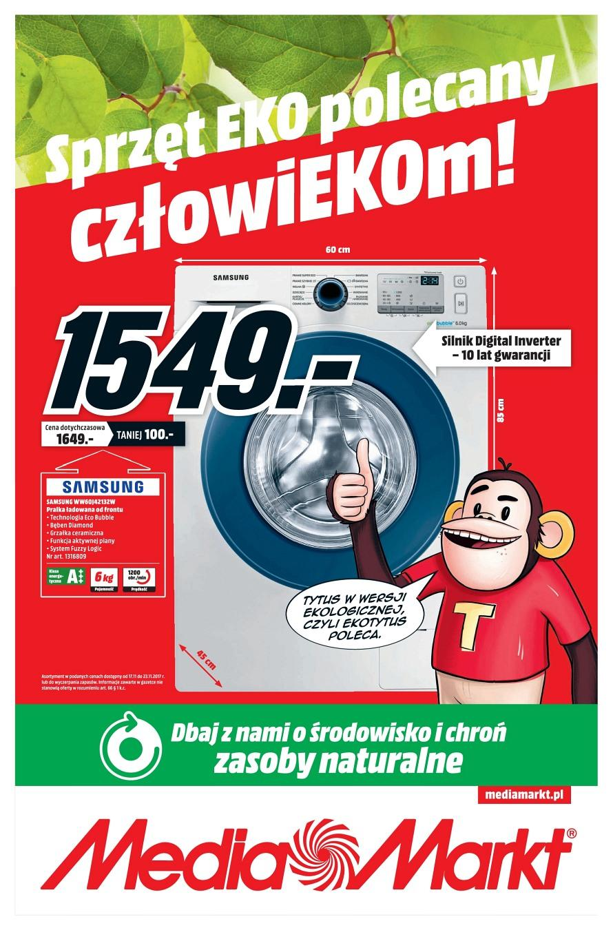 Gazetka promocyjna Media Markt do 23/11/2017 str.0