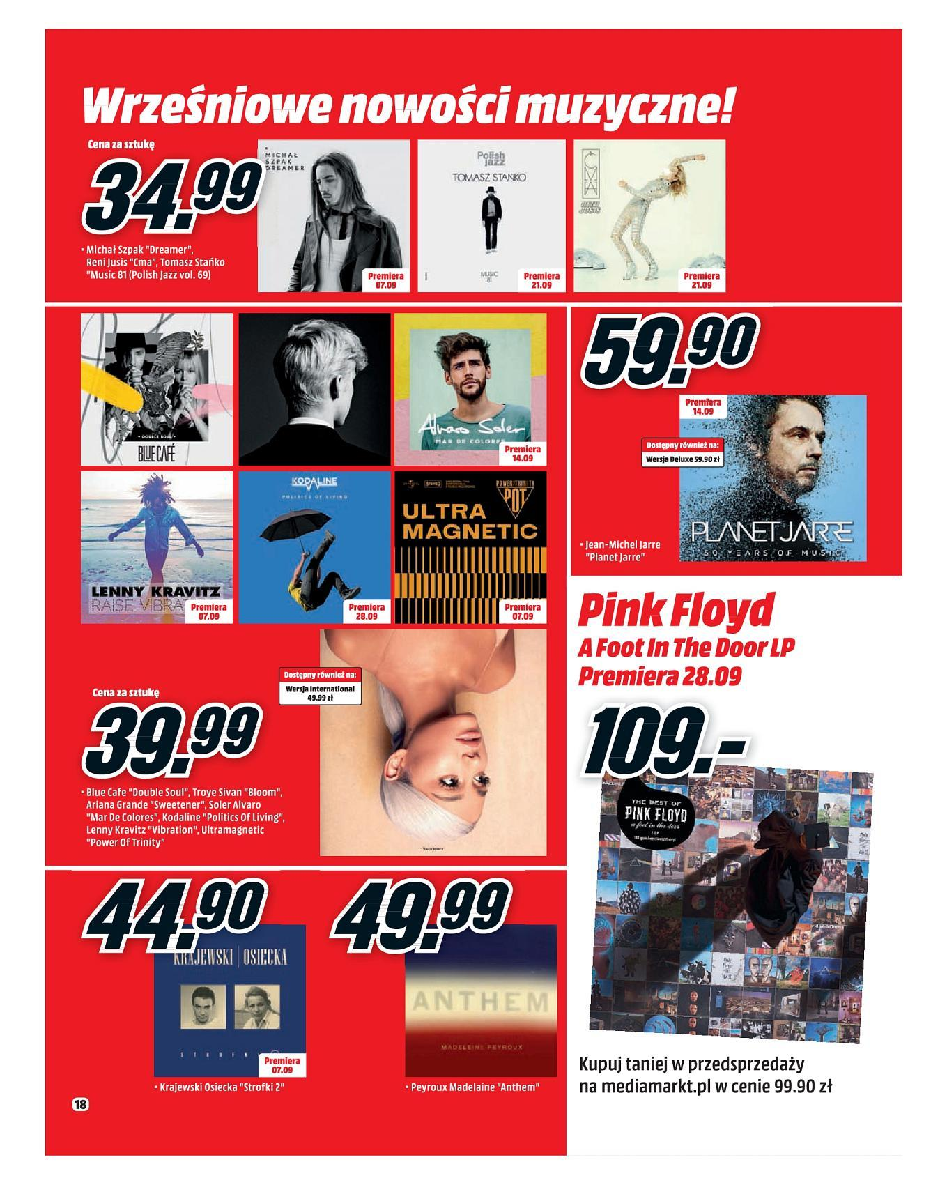 Gazetka promocyjna Media Markt do 30/09/2018 str.18