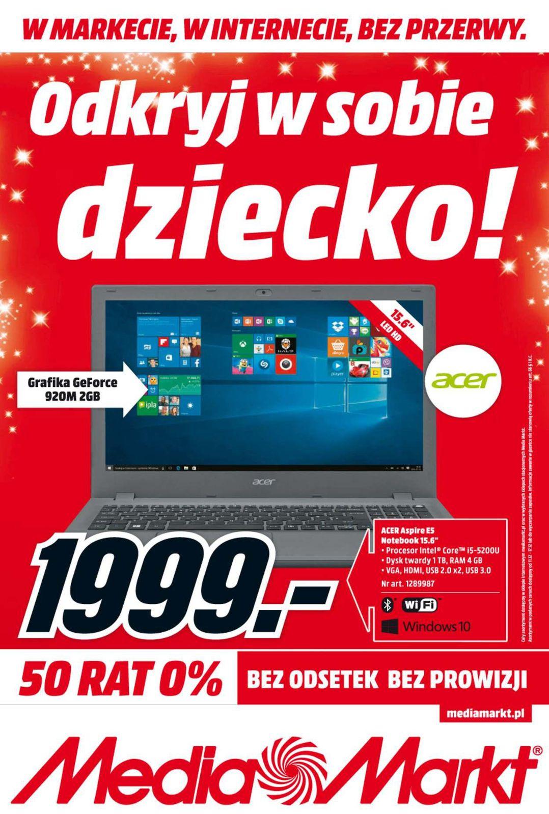 Gazetka promocyjna Media Markt do 17/12/2015 str.0