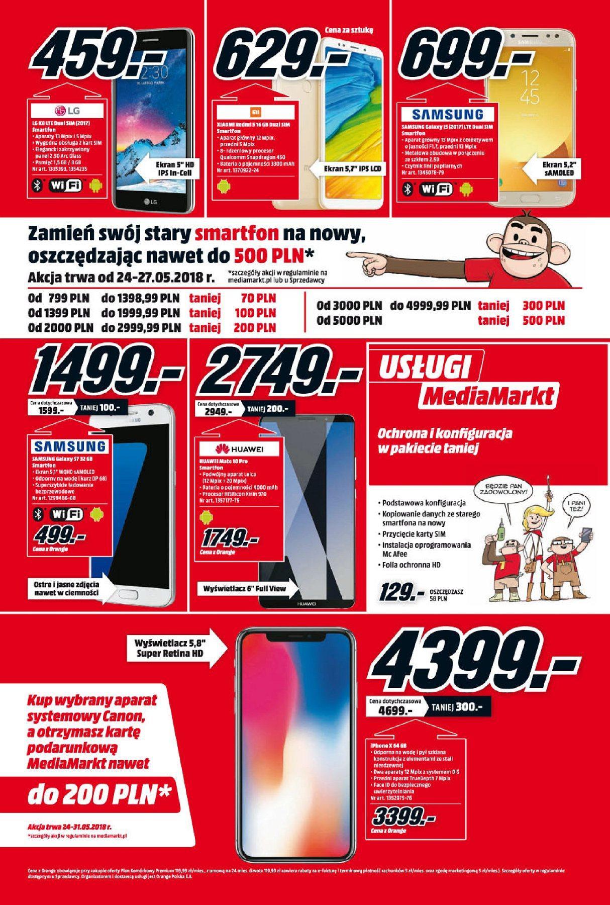 Gazetka promocyjna Media Markt do 30/05/2018 str.1