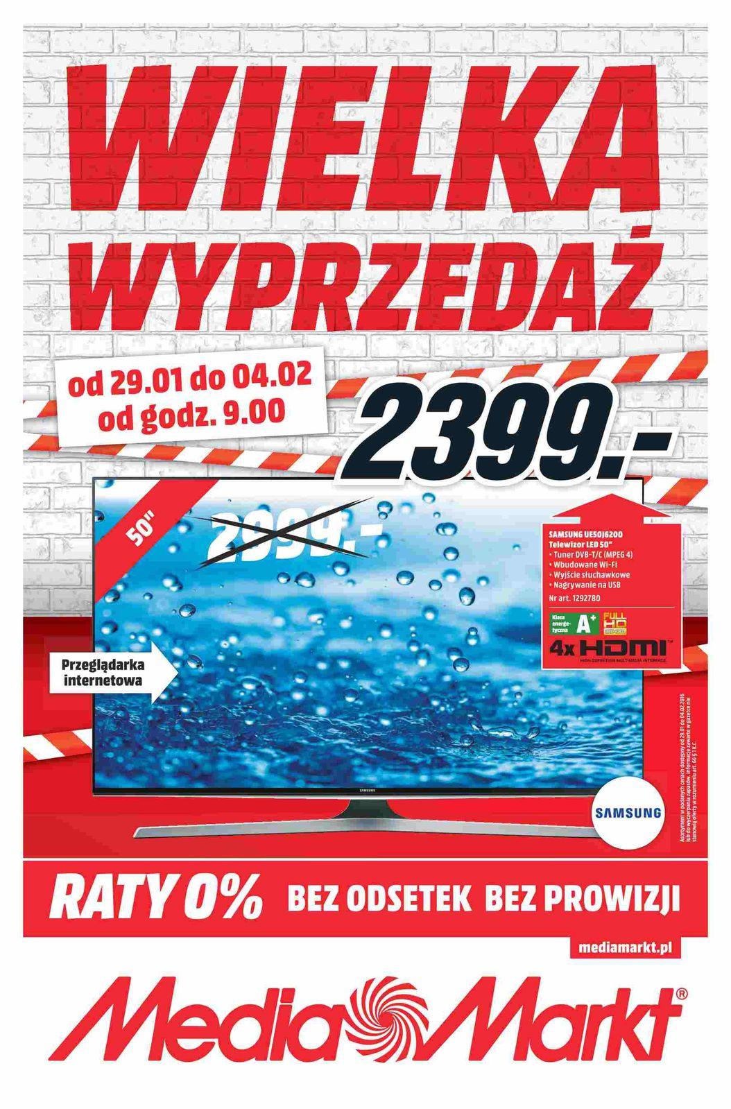 Gazetka promocyjna Media Markt do 04/02/2016 str.0